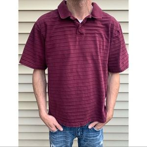 Old Navy Brand Polo XLarge regular fit maroon